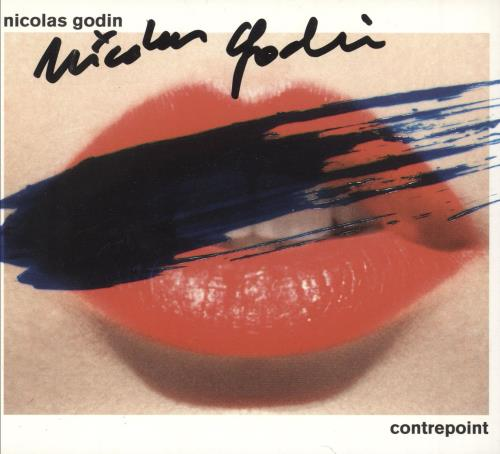 Nicolas Godin Contrepoint - Autographed CD album (CDLP) UK O6CCDCO747714