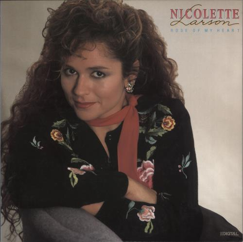 Nicolette Larson Rose Of My Heart vinyl LP album (LP record) Japanese NC0LPRO715433