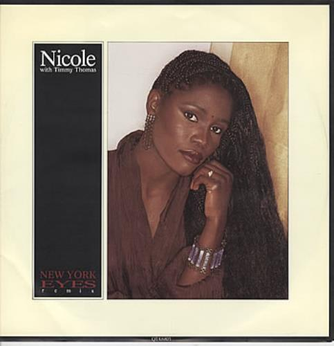 "Nicole (UK) New York Eyes 12"" vinyl single (12 inch record / Maxi-single) UK NA612NE302488"