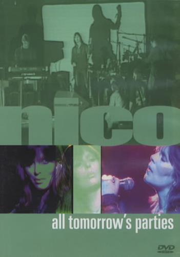 Nico All Tomorrow's Parties - Nico Live DVD UK N-CDDAL356313