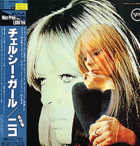 Nico Chelsea Girl vinyl LP album (LP record) Japanese N-CLPCH269627