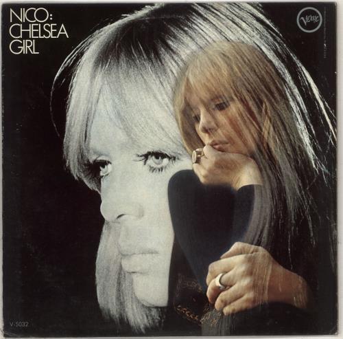 Nico Chelsea Girl vinyl LP album (LP record) US N-CLPCH382965