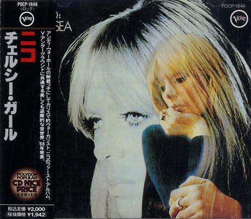 Nico Chelsea Girl CD album (CDLP) Japanese N-CCDCH545543