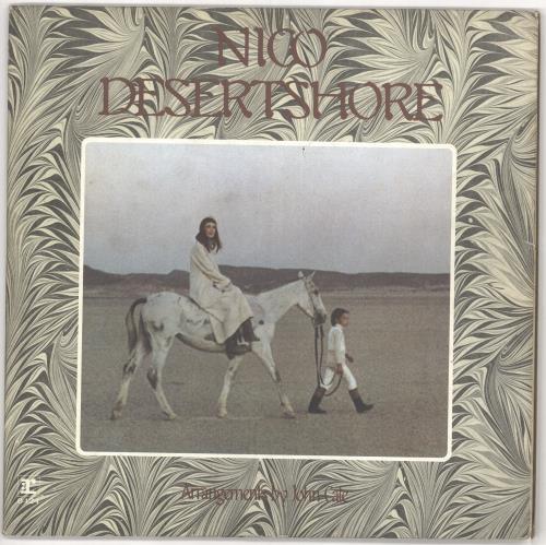 Nico Desert Shore - EX vinyl LP album (LP record) US N-CLPDE719865