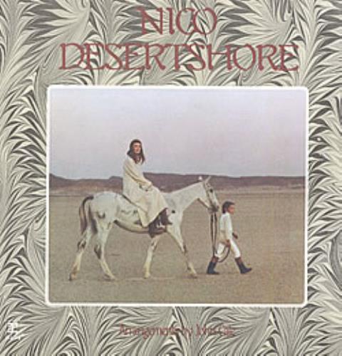 Nico Desert Shore vinyl LP album (LP record) US N-CLPDE222530
