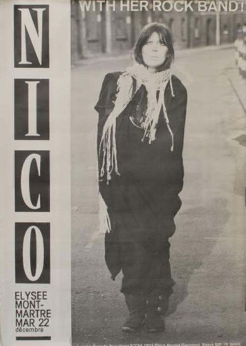 Nico Elysee Montmartre Live poster French N-CPOEL548130