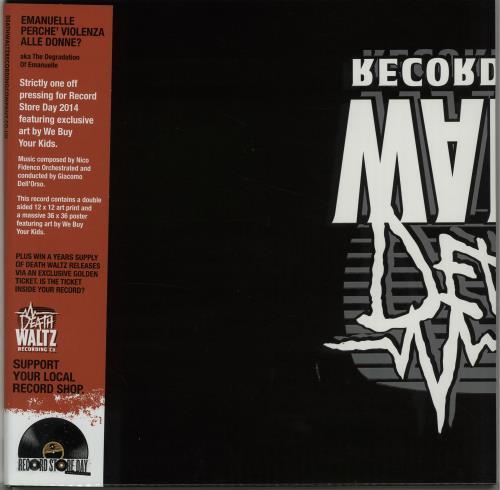 Nico Fidenco Emanuelle Perche' Violenza Alle Donne? - RSD vinyl LP album (LP record) UK NF1LPEM647967