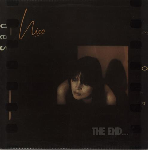 Nico The End - 1st vinyl LP album (LP record) UK N-CLPTH92764
