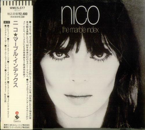Nico The Marble Index CD album (CDLP) Japanese N-CCDTH542024