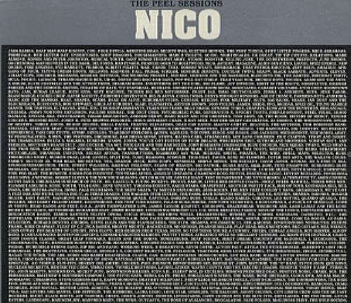 "Nico The Peel Sessions CD single (CD5 / 5"") French N-CC5TH320780"