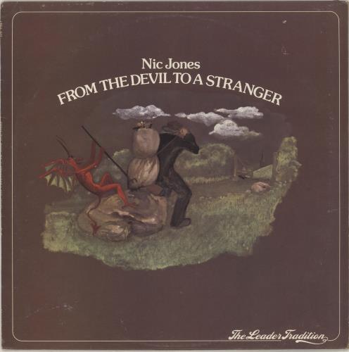 Nic Jones From The Devil To A Stranger - 2nd - EX vinyl LP album (LP record) UK NJSLPFR729760