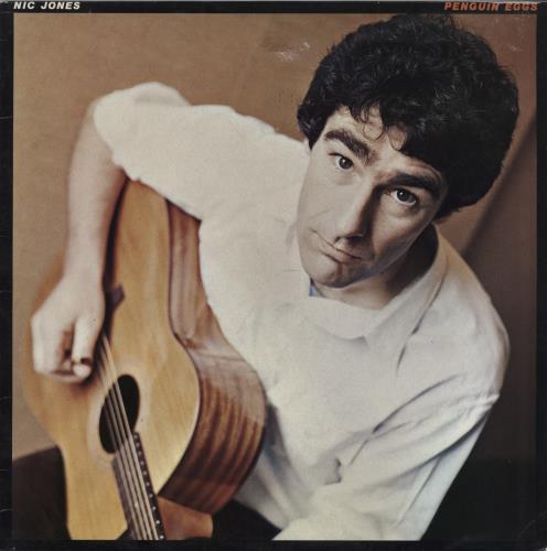 Nic Jones Penguin Eggs - VG/EX vinyl LP album (LP record) UK NJSLPPE757364