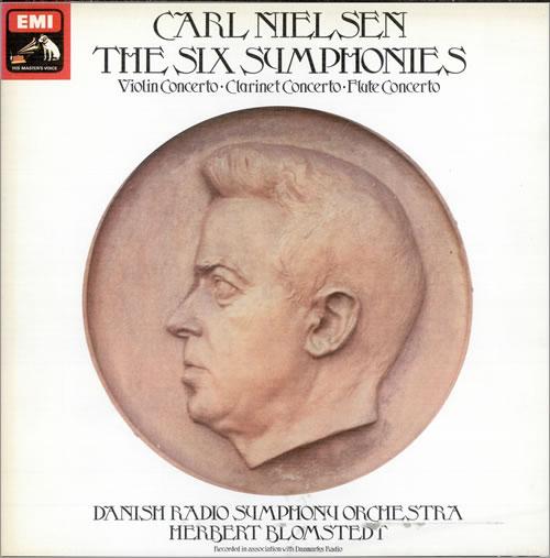 Nielsen The Six Symphonies - Quad box set UK NC8BXTH484645