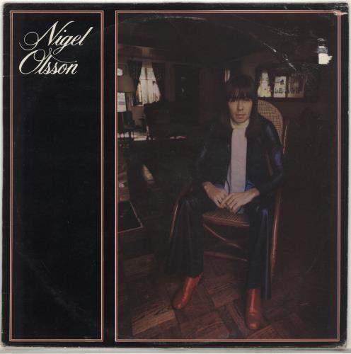 Nigel Olsson Nigel Olsson + Press Photo vinyl LP album (LP record) UK OLSLPNI705620