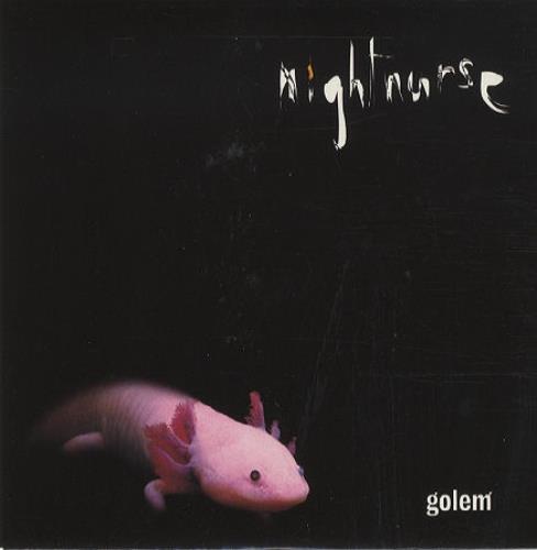 "Nightnurse Golem - PRE ASH 7"" vinyl single (7 inch record) UK NGN07GO248422"