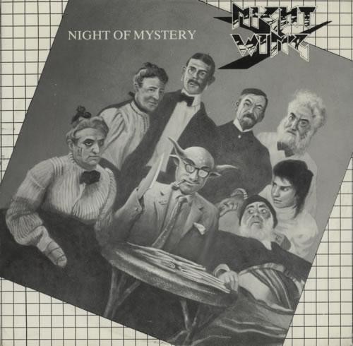 Nightwing Night Of Mystery vinyl LP album (LP record) UK NW1LPNI614889