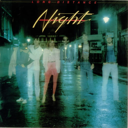 Night Long Distance vinyl LP album (LP record) UK NIQLPLO547649