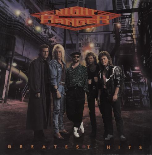 Night Ranger Greatest Hits vinyl LP album (LP record) UK NRALPGR756986