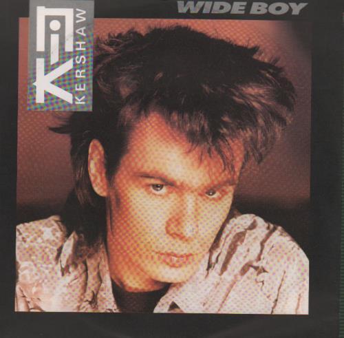 """Nik Kershaw Wide Boy 7"""" vinyl single (7 inch record) German KER07WI649016"""