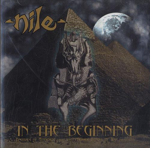 Nile In The Beginning CD album (CDLP) US NXLCDIN593897