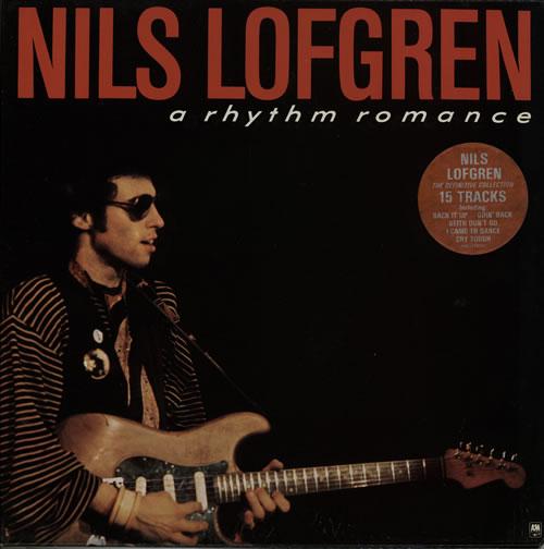 Nils Lofgren A Rhythm Romance vinyl LP album (LP record) UK NLSLPAR216910