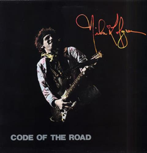 Nils Lofgren Code Of The Road 2-LP vinyl record set (Double Album) UK NLS2LCO316290