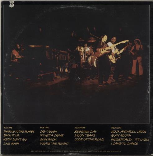 Nils Lofgren Night After Night 2-LP vinyl record set (Double Album) US NLS2LNI295819