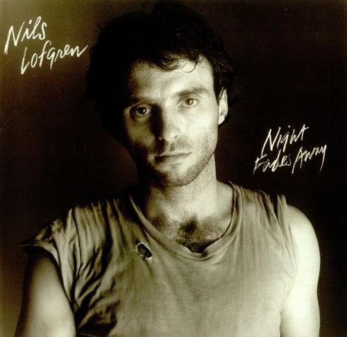 Nils Lofgren Night Fades Away vinyl LP album (LP record) German NLSLPNI455985