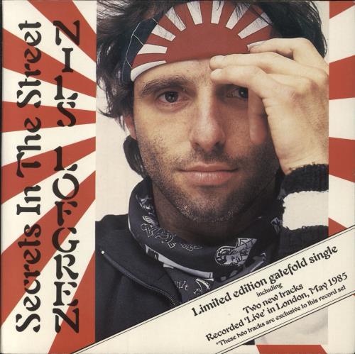 "Nils Lofgren Secrets In The Street - Doublepack 7"" vinyl single (7 inch record) UK NLS07SE156981"