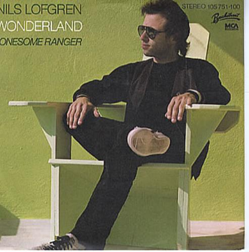 "Nils Lofgren Wonderland 7"" vinyl single (7 inch record) German NLS07WO295033"