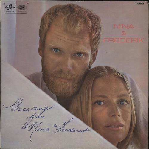 Nina & Frederik A season's Greeting from Nina & Frederik vinyl LP album (LP record) UK N&FLPAS720171