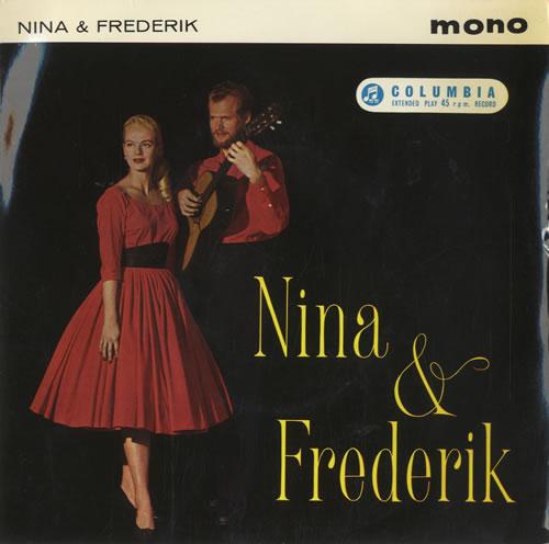 "Nina & Frederik Nina & Frederick EP 7"" vinyl single (7 inch record) UK N&F07NI474185"