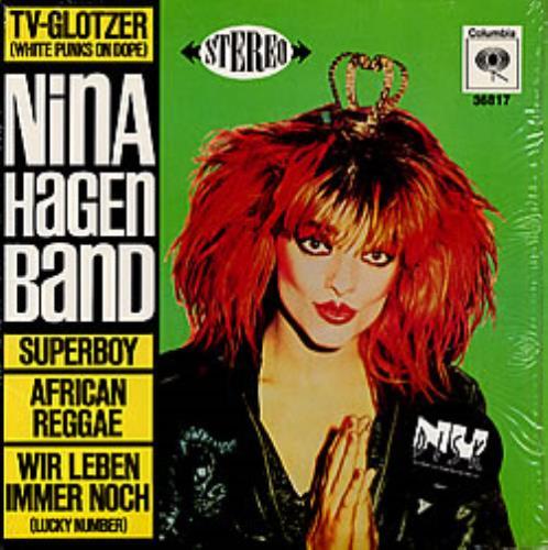 """Nina Hagen Nina Hagen Band 10"""" vinyl single (10"""" record) US HAG10NI13342"""