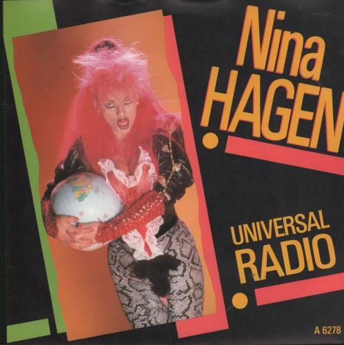 Nina Hagen Universal Radio UK 7 vinyl single (7 inch