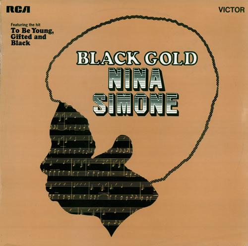 Nina Simone Black Gold vinyl LP album (LP record) UK NNSLPBL477775