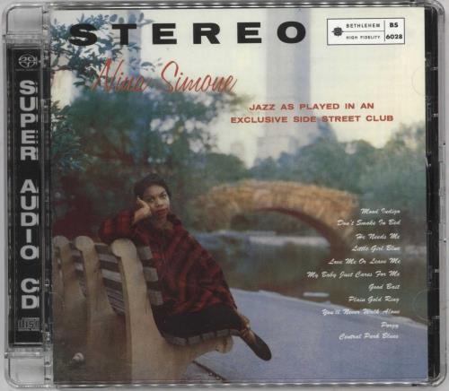 Nina Simone Little Girl Blue super audio CD SACD US NNSSALI739575