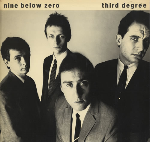 Nine Below Zero Third Degree vinyl LP album (LP record) UK NBZLPTH564634