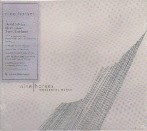 """Nine Horses Wonderful World CD single (CD5 / 5"""") UK NHEC5WO353735"""