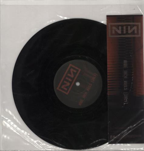 "Nine Inch Nails Only - Album Version [Explicit] - EX 9"" vinyl single (9"" record) UK NIN09ON765474"