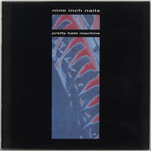 Nine Inch Nails Pretty Hate Machine vinyl LP album (LP record) UK NINLPPR199655