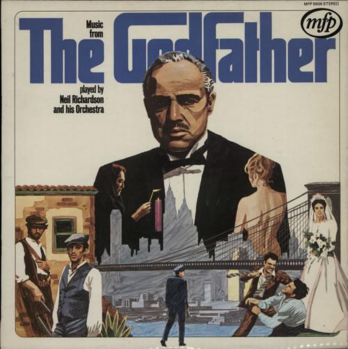 Nino Rota Music From The Godfather vinyl LP album (LP record) UK NC4LPMU584624