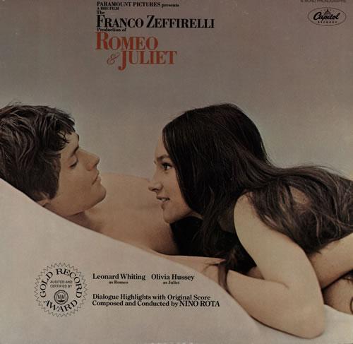 Nino Rota Romeo & Juliet vinyl LP album (LP record) US NC4LPRO567678