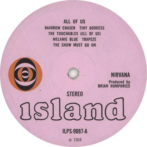 Nirvana (UK) All Of Us - 1st - Fully Laminated vinyl LP album (LP record) UK NRVLPAL723406