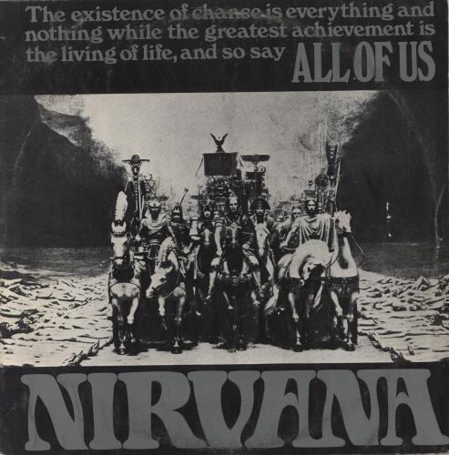 Nirvana (UK) All Of Us - 1st - VG vinyl LP album (LP record) UK NRVLPAL587192