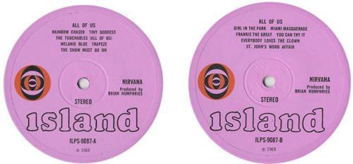 Nirvana (UK) All Of Us - 1st vinyl LP album (LP record) UK NRVLPAL438980