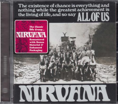 Nirvana (UK) All Of Us CD album (CDLP) UK NRVCDAL257371