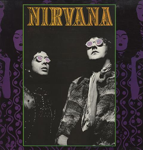 Nirvana (UK) Black Flower vinyl LP album (LP record) UK NRVLPBL341662