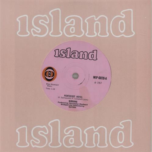 "Nirvana (UK) Pentecost Hotel - Solid 7"" vinyl single (7 inch record) UK NRV07PE682457"