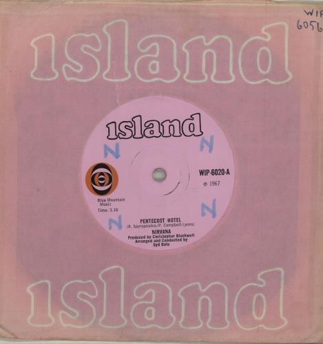 "Nirvana (UK) Pentecost Hotel - WOL 7"" vinyl single (7 inch record) UK NRV07PE685290"