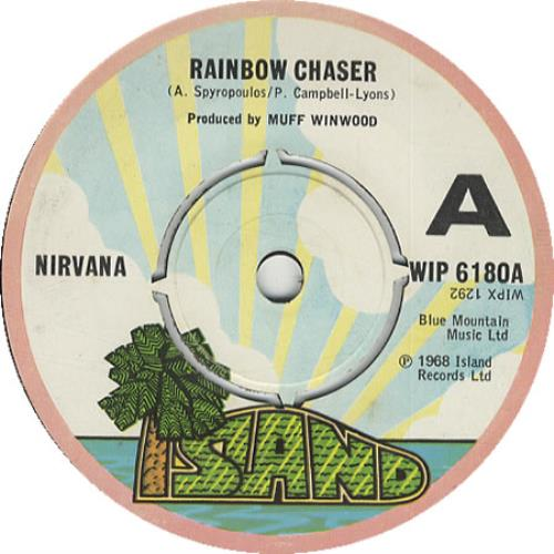 "Nirvana (UK) Rainbow Chaser - Palm tree 7"" vinyl single (7 inch record) UK NRV07RA450695"
